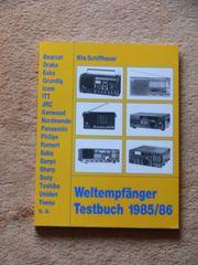 Weltempfänger Testbuch 1985 -