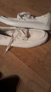Herren Schuhe in weiß gr