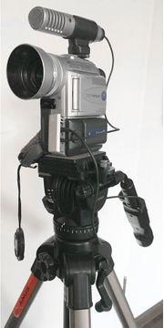 Sony Video CamRecorder DCR-PC100E mit