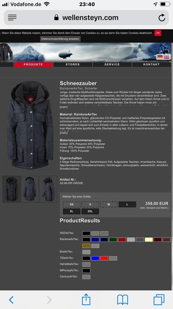10eb7083ba64 Wellensteyn Schneezauber günstig gebraucht kaufen - Wellensteyn ...
