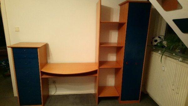 Schrankwand Kinder Jugendzimmer Inkl Schreibtisch In Heidelberg
