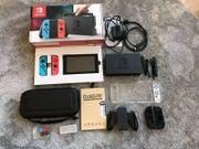 WIE NEU Nintendo Switch Konsole