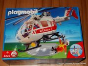 Playmobil Notarzthelikopter 4222,