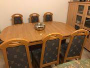 Esszimmertisch 6 Stühle