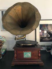 Lässiges Grammofon voll funktionstüchtig super