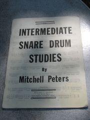 Schlagzeug Snare Drum Studies von