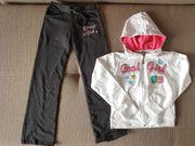 Mädchen Sportkleider Set Hose Pullover