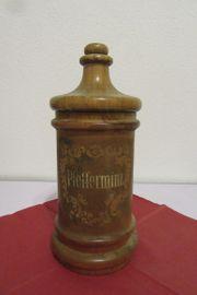 Apothekerdose aus Holz