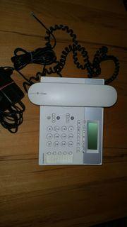 Telefon von Telekom mit Anrufbeantworter