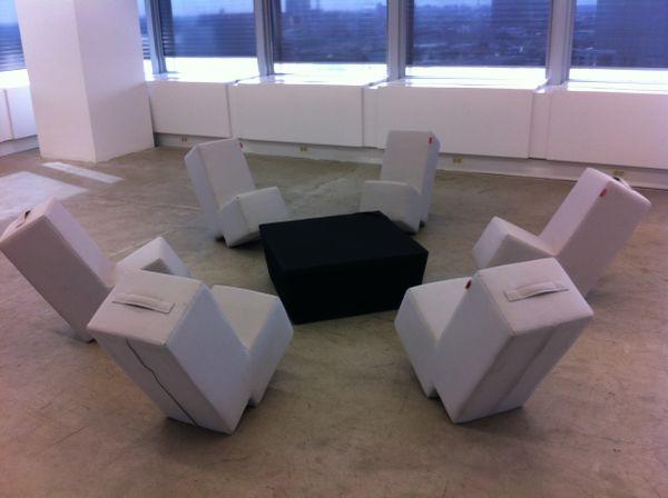 Designermöbel Frankfurt sitze und tische des etablierten herstellers lümmel in frankfurt