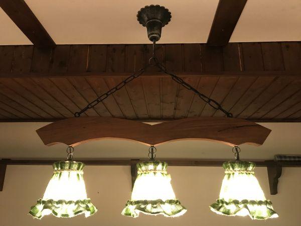Rustikale deckenlampe 3 flammig in olching lampen kaufen und