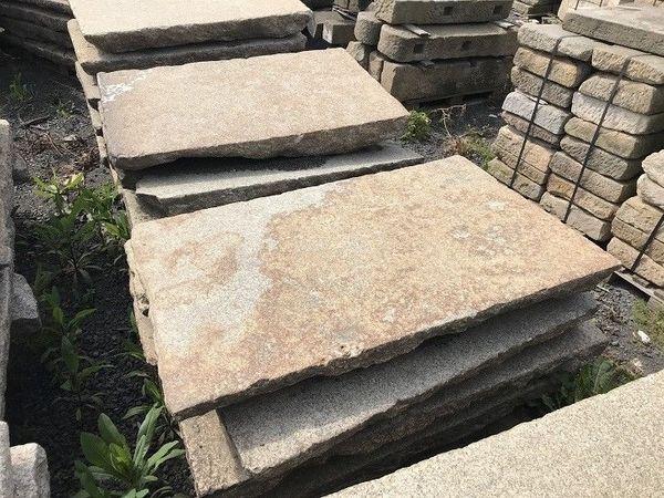 Alte Gredplatten Granitplatten Bodenplatten Naturstein Antiker