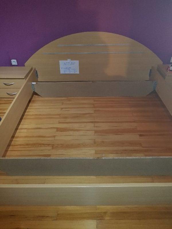 Doppelbett Rahmen Buche 1.80x2.00 In Völklingen   Betten Kaufen Und .
