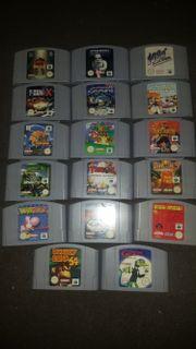 Nintendo 64 Sammlung