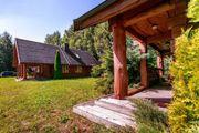 Litauen, Blockhaus, Einfamilienhaus,