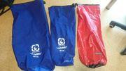 Wasserdichte Packsäcke mit Rollverschluss