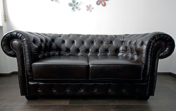Chesterfield Sofa Sessel In Stein Polster Sessel Couch Kaufen