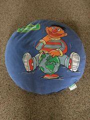 Kissen rund SESAMSTRASSE mit Ernie