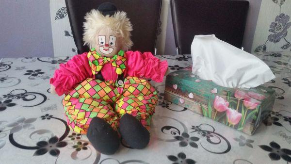 Puppe Clown