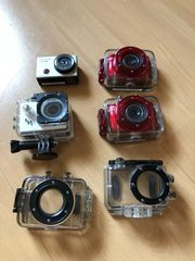 4 Actioncams ähnlich Gopro