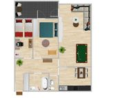 3 Zimmer Wohnung Limburgerhof ZENTRUM