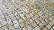 Granitpflaster gebraucht bunt