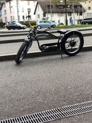 E Bike Chopper Handgas Pedelec