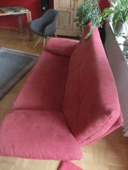 Sofa Couch 2oocm rot Rolf