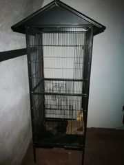 Kleintier- Vogelkäfig ca 150 50