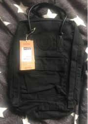 FJÄLLRÄVEN Rucksack in schwarz