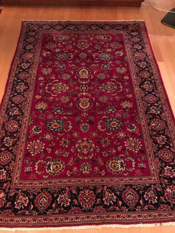 original perserteppich keshan handgekn pft in sch neck teppiche kaufen und verkaufen ber. Black Bedroom Furniture Sets. Home Design Ideas