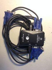 KVM Switch VGA USB