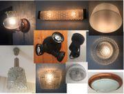 Diverse Deckenlampen / Wandlampen /