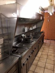 Gastro Küchenzeile Edelstahl