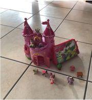 Filie Schloss mit 6 Figuren