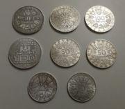 Münzsammlung 25-500 Schilling