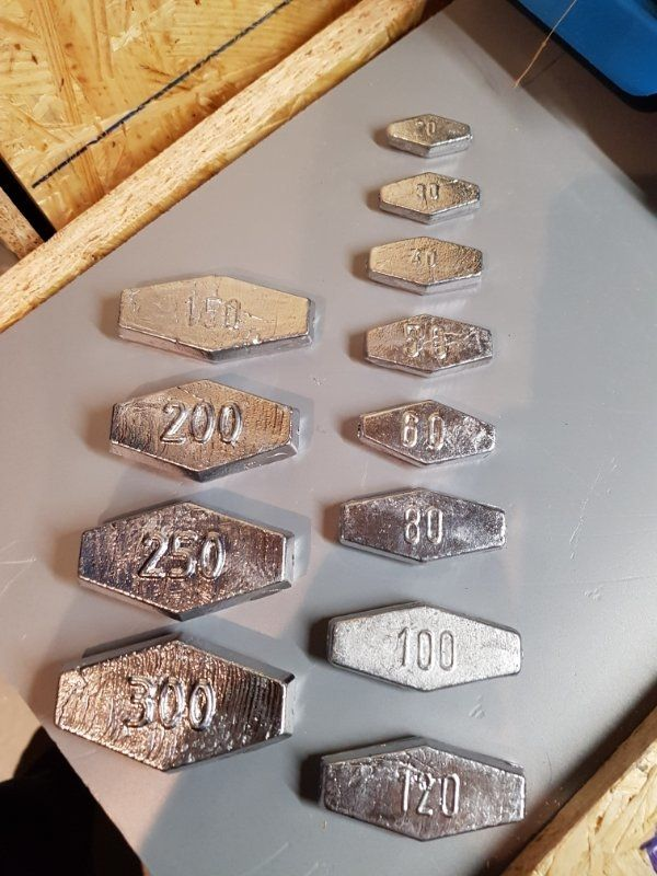 Grundblei Sargblei Angelblei Sechskantblei Blei Durchlaufblei 2 bis 10 Stück