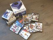 Nintendo Gamecube mit 10 Spielen