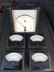 Volt Amper Watt Anzeige Schaltkasten