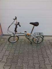 Klapp Fahrrad Camping Stadt Neuwertig