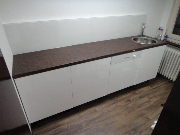 Ikea Küchenzeile ikea küche küchenzeile weiß dunkle arbeitsplatte