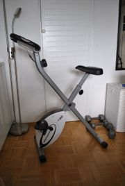 Fitnessbike klappbar und Rudergerät