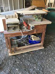 INCA Tischkreissäge und Hobelmaschine Mehrzwecktisch