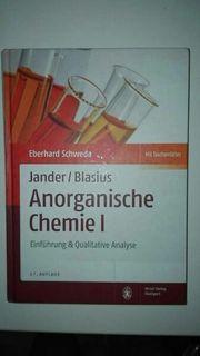 Jander Blasius Anorganische Chemie 1