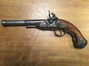 Dekoration Pistole, Steinschlosspistole -