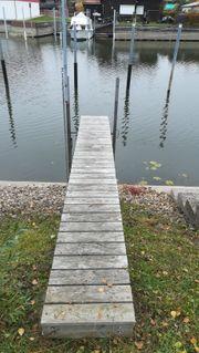 Steg Brücke Rampe