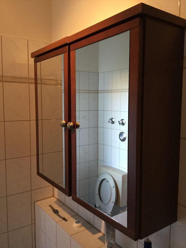 2 Spiegelschränke aus » Bad, Einrichtung und Geräte
