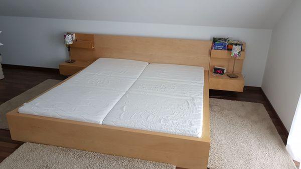Ikea Malm Bett 180 X 200 Inkl 2 Matratzen 2 Nachttischen Und 2