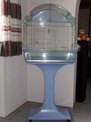 Vogelkäfig (hellblau) inkl.