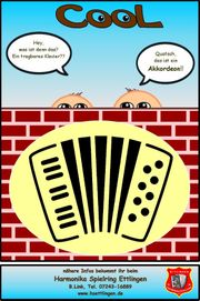 Akkordeonunterricht im Verein Akkordeon